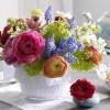 весенние композиции из цветов